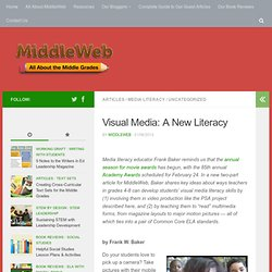 Teaching Visual Media Literacy