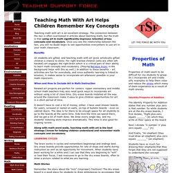 Teaching Math With Art