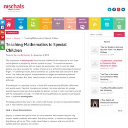 Teaching Mathematics to Special Children - Nischal's Blog