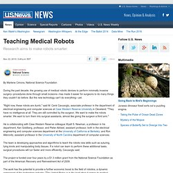 Teaching Medical Robots