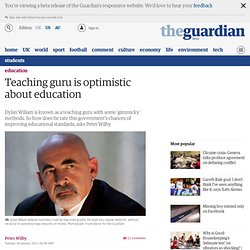 Teaching guru is optimistic about education