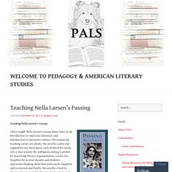 Welcome to Pedagogy & American Literary Studies