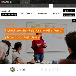 Hybrid Teaching: Lesson Planning / Task Design