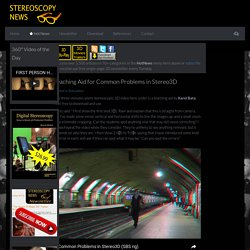 Teaching Aid for Common Problems in Stereo3D