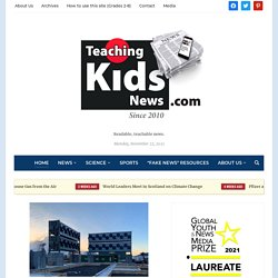 Teaching Kids the News - Current event news articles for kids, parents and teachers.