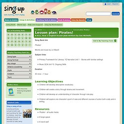 Teaching Resource Detail - Sing Up - Let's get the whole place singing!