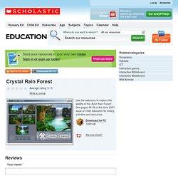 Crystal Rain Forest - Scholastic Education PLUS