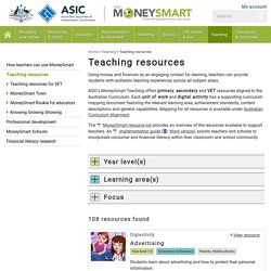Money Teaching resources