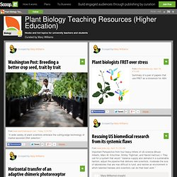 Plant Biology Teaching Resources (Higher Education)