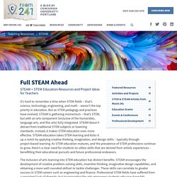 STEAM Teaching Resources for Educators