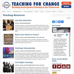 Teaching Resources - Teaching for Change : Teaching for Change