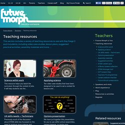 Teaching resources - Future Morph