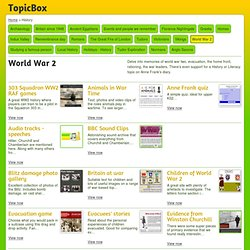 World War 2 teaching resources at TopicBox.net