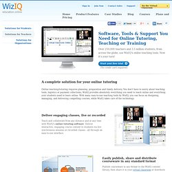 How to Teach Online: Teaching Online using WiZiQ