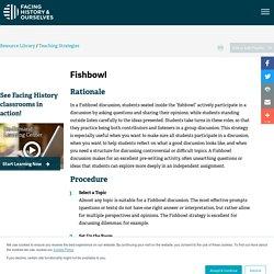 Teaching Strategy: Fishbowl
