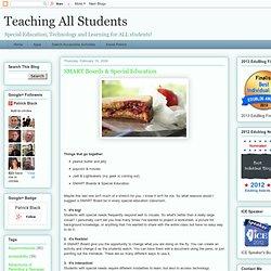 Smartboards & Special Education