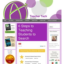 6 Steps to Teaching Students to Search