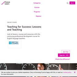 Professional Practices for English Language Teaching - British Council
