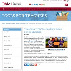 Teaching with Technology video series unveiled
