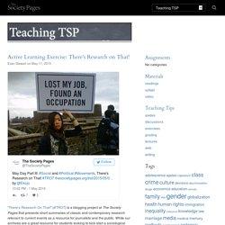 Teaching TSP