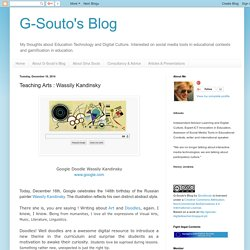 G-Souto's Blog: Teaching Arts : Wassily Kandinsky