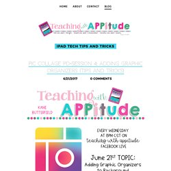 """Teaching with""""APP""""-itude! □ - Blog"""