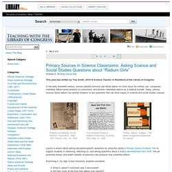 Library of Congress Teaching Blogs