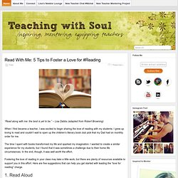 Teaching With Soul - Inspiring, Mentoring, Equipping Teachers