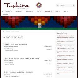 Teachings « Tushita Meditation Centre