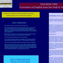 teachingtips