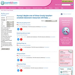 Teachit ELT - Search Results