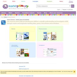 Primary Science resources