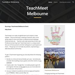 TeachMeet Melbourne