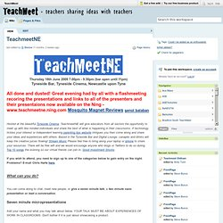 TeachmeetNE