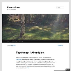 Teachmeet i Almedalen