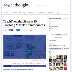 Library: 10 Learning Models & Frameworks