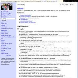 teachweb2 - Animoto