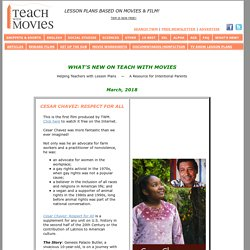What's New on TeachWithMovies.com - The Latest Updates on our Site - Inspiration is Priceless!