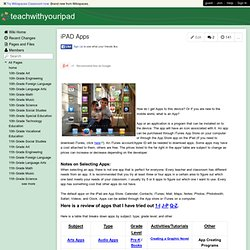 teachwithyouripad.wikispaces