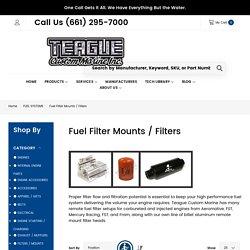 Aeromotive Fuel Filter Teague Custom Marine