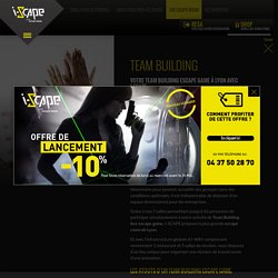 Team building escape game Lyon, room escape, team building escape room Lyon : I-SCAPE