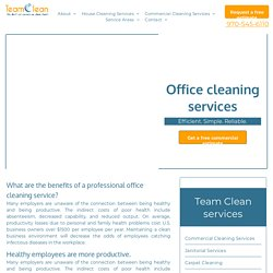 Hiring a Professional Office Cleaning Service in Avon CO
