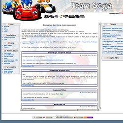 Team_Sega : Acceuil