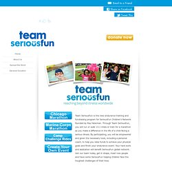 Team SeriousFun Landing Page - Home