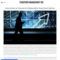 Team - STRATFORD MANAGEMENT INC