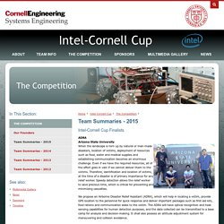 Team Summaries - 2015 - Intel Cornell Cup