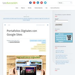 Portafolios Digitales con Google Sites