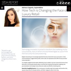How Tech is Changing the Face of Luxury Retail