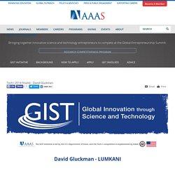 Tech-I 2014 Finalist - David Gluckman