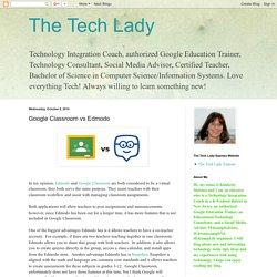 Google Classroom vs Edmodo